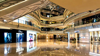 Shanghai IFC Mall luxury interior brand shopping