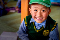 Young tibetan student in Leh's SOS Children's Village
