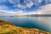 Hvalfjordur, bay, beautiful, blue, cloud, clouds, coast, coastline, color, colorful, dramatic, europe, fishing, fjord, hdr, horizon, iceland, icelandic, island, islanda, landscape, light, mountain
