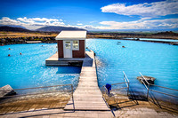 Myvatn Nature Baths pool bath spa iceland blue