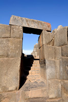 Doorway in Sacsayhuamán Fortress