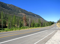 US Highway 14-16-20 near the East Entrance of Yellowstone