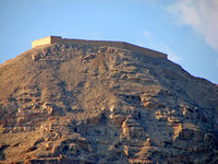 Jericho - Mount of Temptation - Ruins of the Hasmonean Fortress of Dok