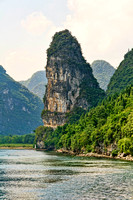 Beautiful Karst Mountain in Guilin