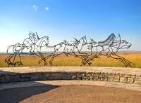 Indian Memorial at Little Bighorn