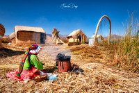 Cooking time on Uros Island