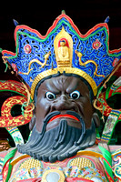 Virudhaka, Guardian of the South in Lingyin Temple