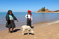 Kids on the Beach, Taquile Island