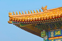 Forbidden City Roof Corner