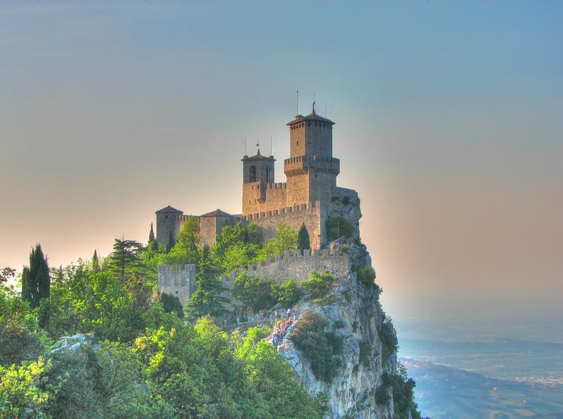 Francesco Dazzi Photography: Scenic & Landscapes &emdash; San Marino - Guaita Castle