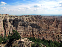 Badlands National Park - Pinnacles Overlook