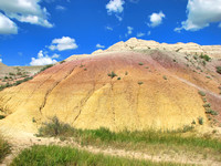 Badlands National Park - Yellow Mound