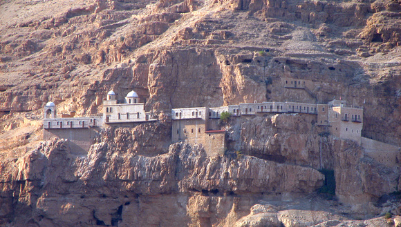 Jericho - Monastery of Temptation (Quarantal Monastery)