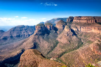 Blyde River Canyon - The Three Rondavels