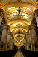 The Central Nave of the Cathedral of Lima