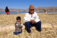 Uros Father and Son