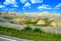 Badlands National Park - Yellow Mounds Overlook