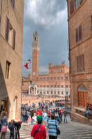 Siena - Entering in Piazza del Campo